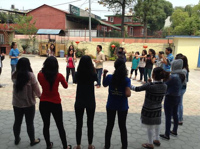 Volunteers of Jiwanta Nepal in Kathmandu