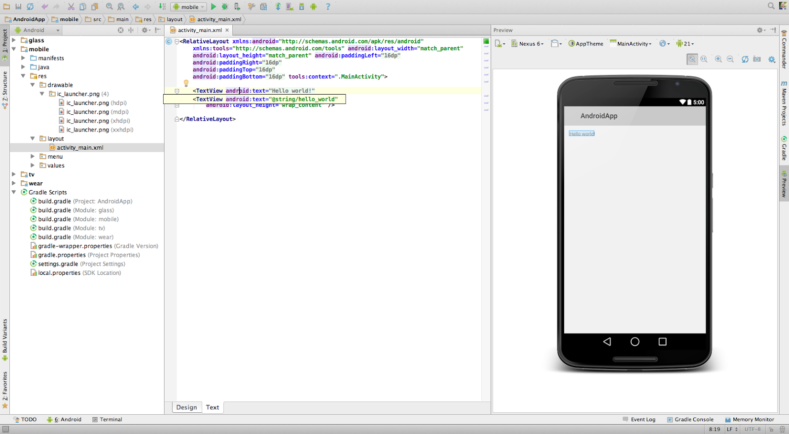 Elite Technologies: HB Blog 91: Android Studio's Attractive Features