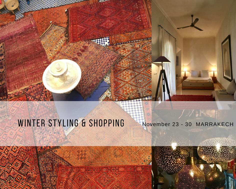 Shopping event Marrakech