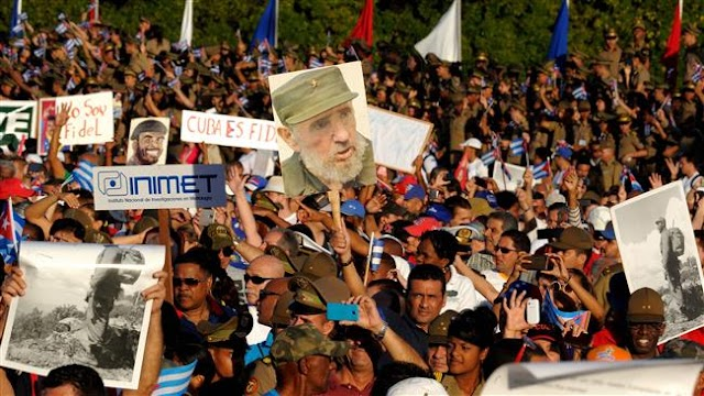 Cuba marks 58th anniversary of revolution, with parade in honor of Fidel Castro