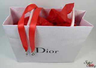 Swatches und Tragebild Dior Addict Gloss Diablotine
