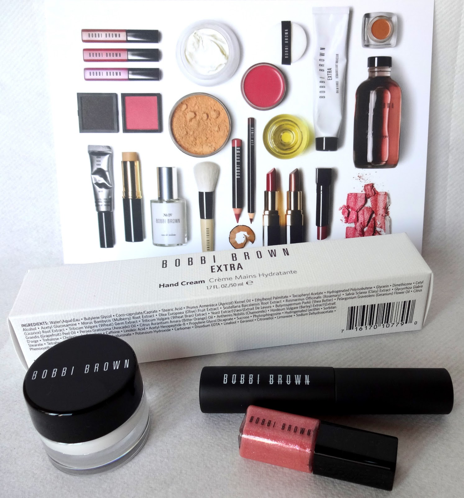 Bobbi Brown Extra Hand Cream und Goodies