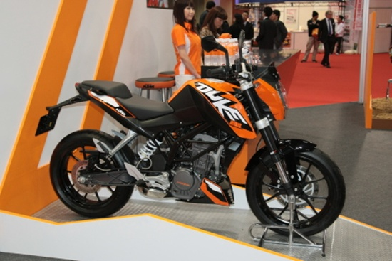 2012 ktm duke 200 motorcycle picture and review - new motorcycle