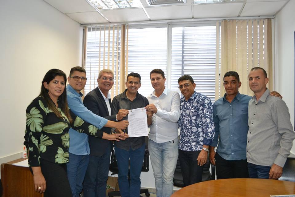 PREFEITURA DE GUAJERU SOLICITA APOIO PARA CONSTRUÇÃO DE NOVO MERCADO MUNICIPAL NA CIDADE