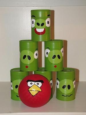 Juego De Angry Birds Hecho Con Latas Manualidades Faciles