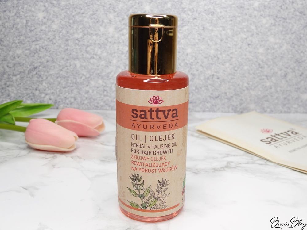 Sattva, olejek rewitalizujący na porost włosów
