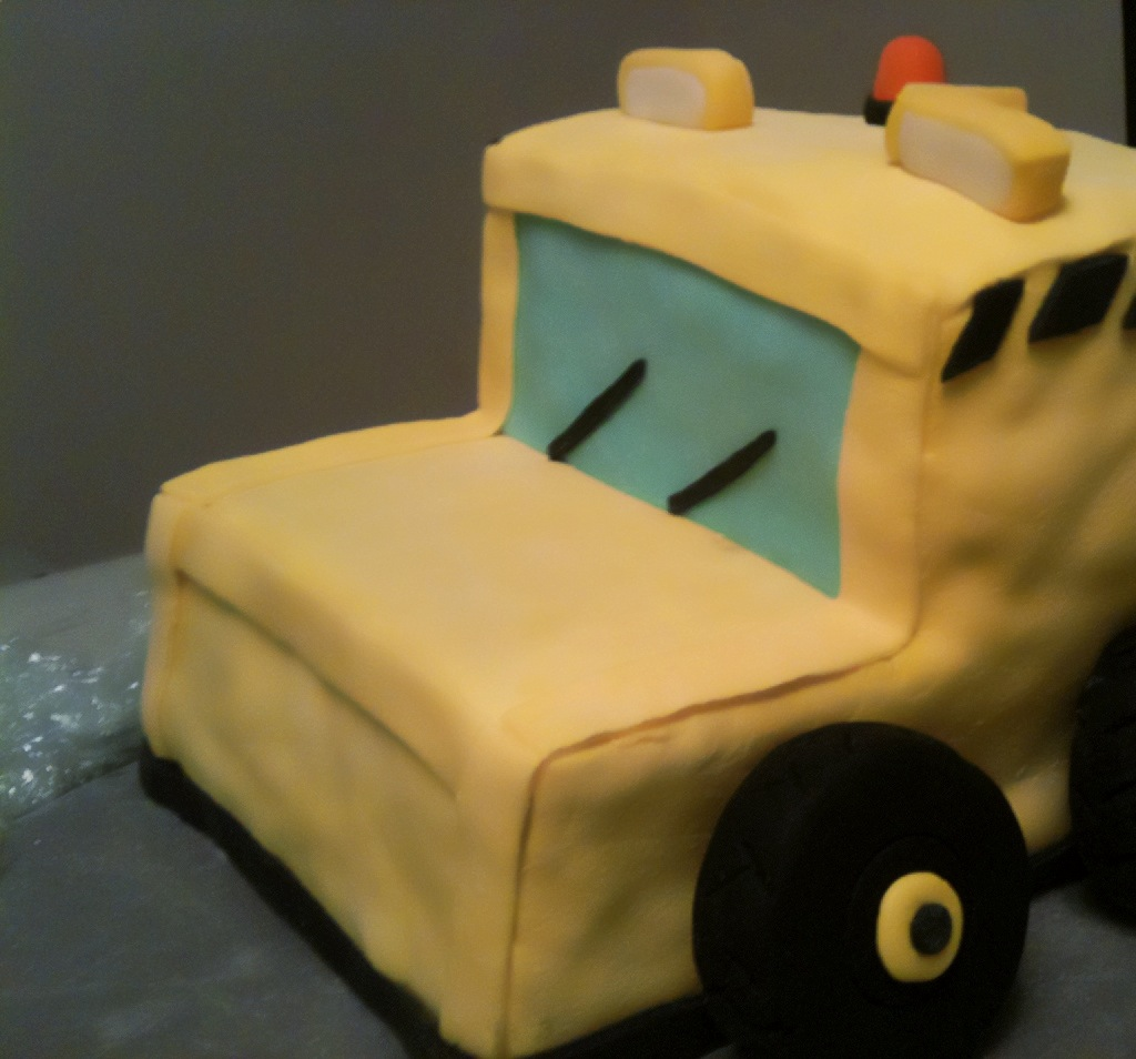 Surprising Caution Construction Truck Cake Ahead Ting And Things Personalised Birthday Cards Beptaeletsinfo