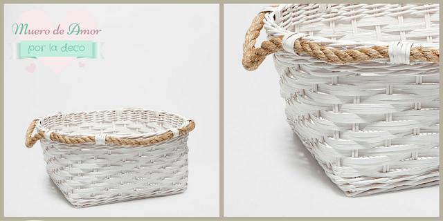 feng shui decoración elemento madera cestas