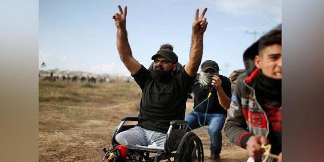 Pejuang Kemerdekaan Palestina Berkursi Roda Itu Kini Telah Pulang Ke Rahmatullah