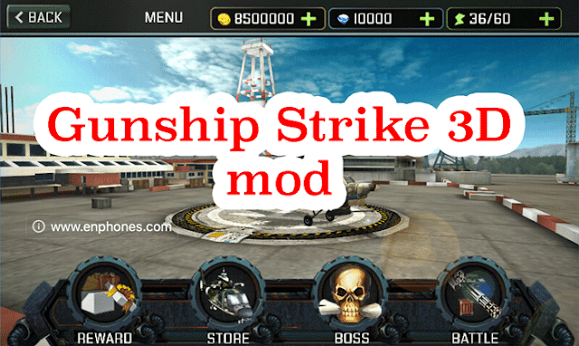 Download Gunship Strike 3D Mod latest version
