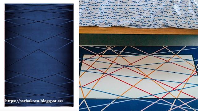 Модная тенденция в интерьере - ковры с геометрическим узором