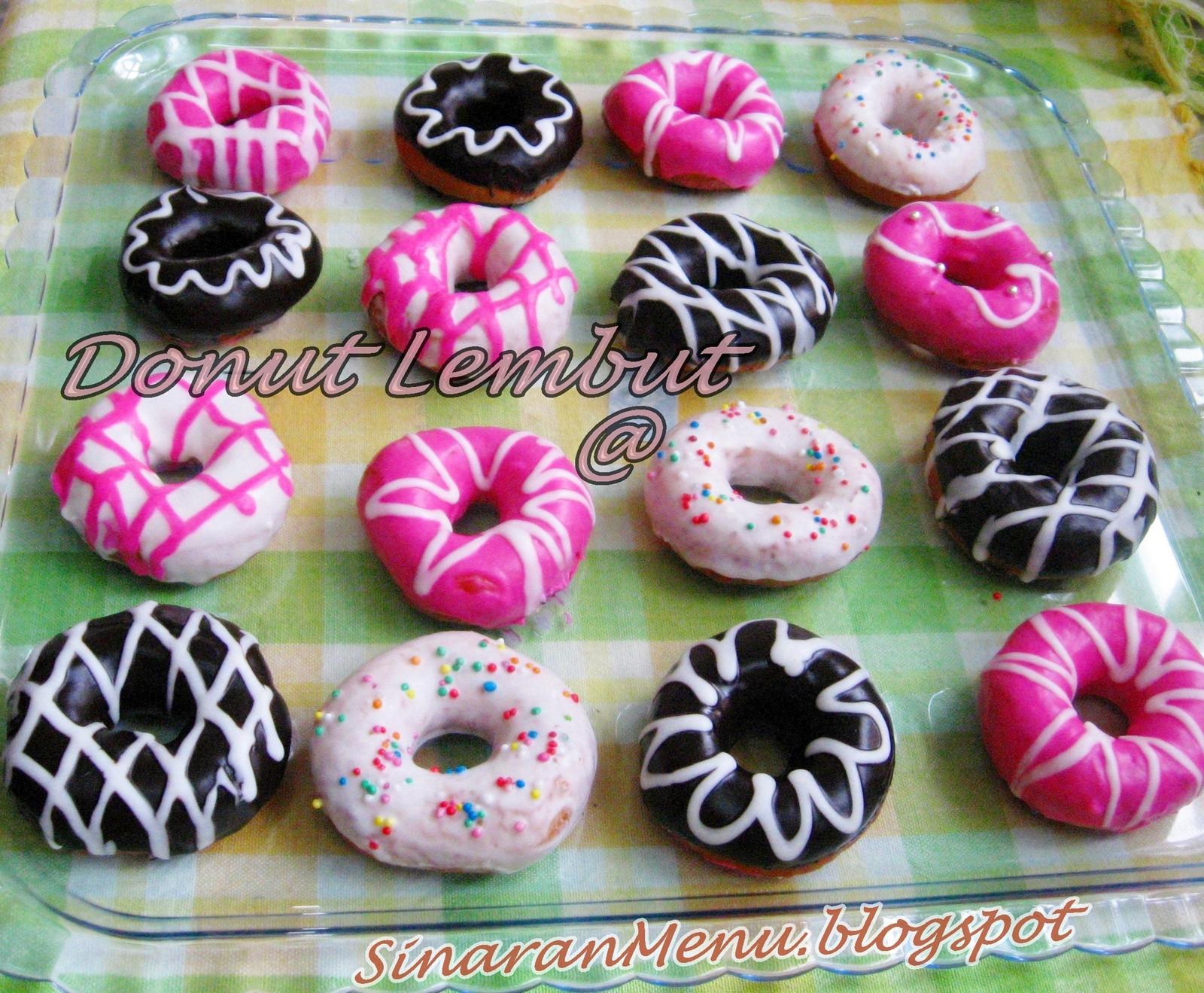 SinaranMenu: Donut lembut