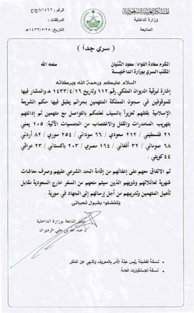 Informasi ISIS: Dokumen Rahasia Arab Saudi membantu ISIS