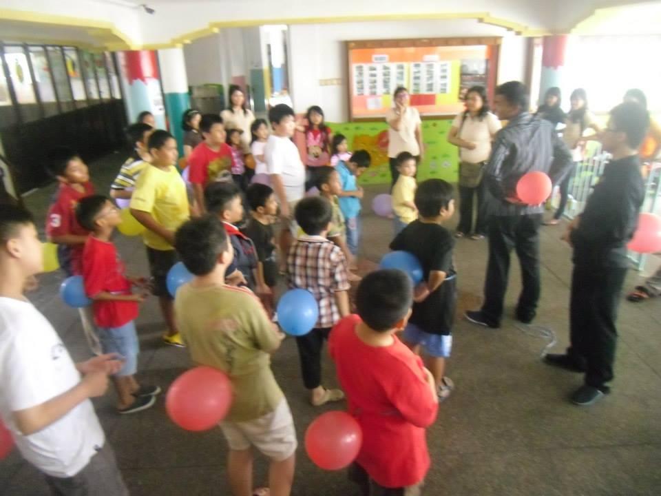Sunday School Bible Camp Sekolah Minggu Hari Pertama
