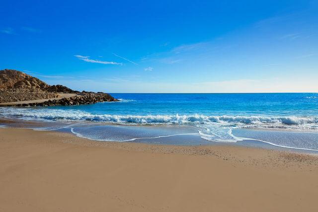 Playa de Cullera em Valência