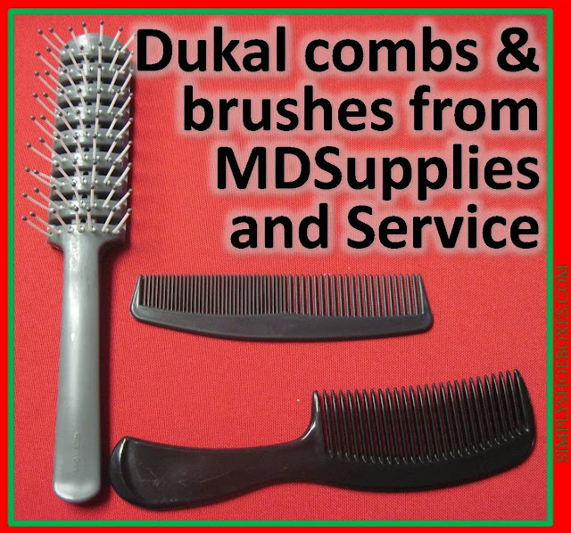 Dukal combs and brush from MDSupplies & services review.