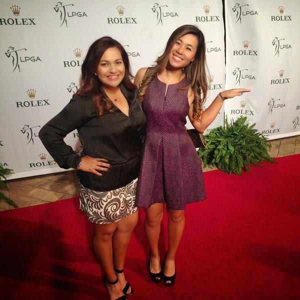 Golf Babes Lpga Stars On The Rolex Red Carpet
