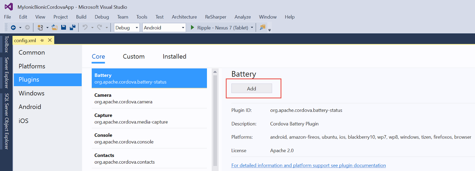 Adam Tuliper's Development Tips: Visual Studio Tools for Apache