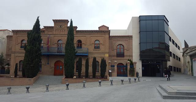 Fachada ayuntamiento de Illescas