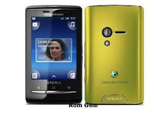 Firmware Download Sony Ericsson Xperia X10 mini E10i