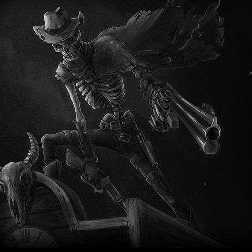 Fantasy World Dead Cowboy Wallpaper Engine