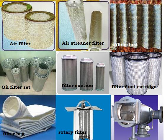 Jual Filter Industri berkualitas di Jakarta, bikin filter, produsen filter industri, recondisi filter industri, service filter