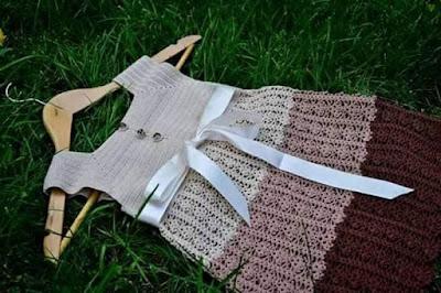 Crochet Children Dress For Girls