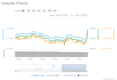 Litecoin recovering from the Bear Attacks
