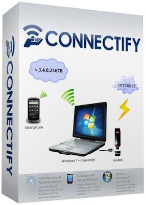 تحميل برنامج Connectify Hotspot كونكت فاي للتحكم بشبكة الوايرلس