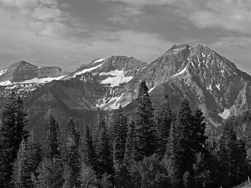 Mountain Pictures Mountains Black And White