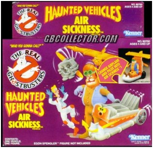 The REAL Ghostbusters Kenner Haunted Vehicles Air Sickness Vehicle