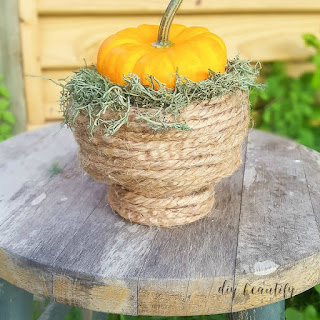 easy pedestal rope bowl