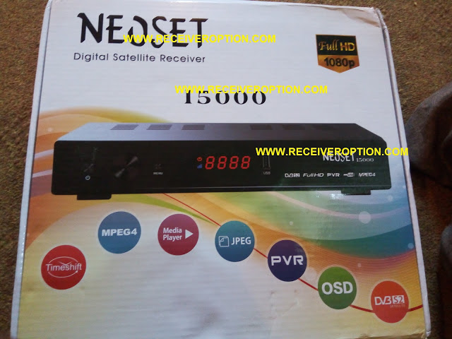 NEOSET 15000 HD RECEIVER AUTO ROLL POWERVU NEW SOFTWARE - HOW TO