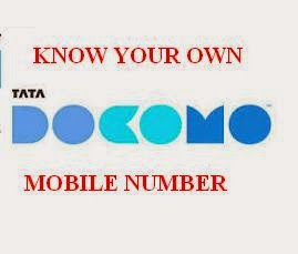 How To Check Your Own Tata Docomo Mobile Number - Capital Jobs