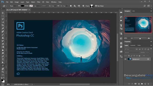 Adobe Photoshop CC 2017 El mejor programa en Imagen, Diseño y Fotografía