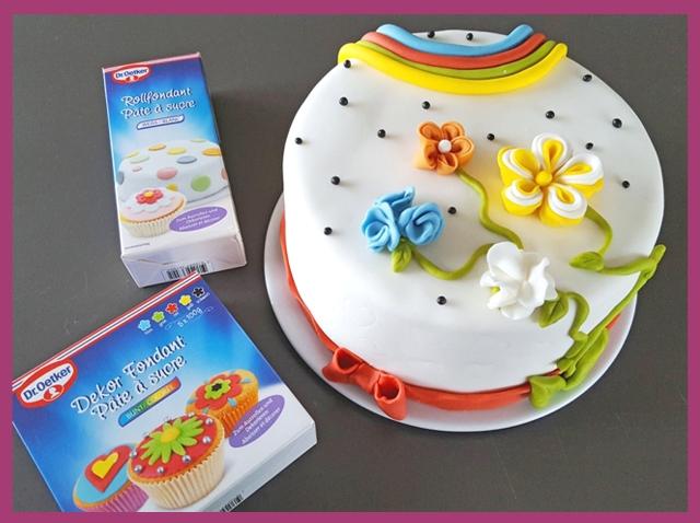 Projekt torten dekorieren mit dr oetker 39 s rollfondant set - Torten dekorieren ...