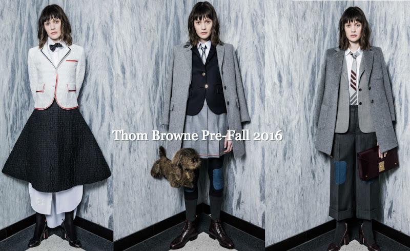 Thom Browne Pre-Fall 2016