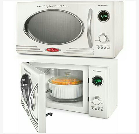 Nostalgia Microwave Oven - Kitchen Tabletop Cooker