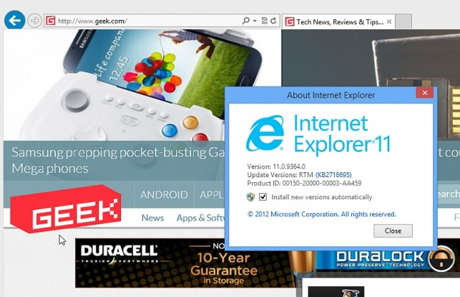 Internet Explorer 11 Compatible With Windows 7 Soon Mono Live