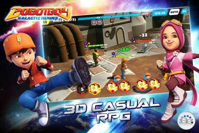 BoBoiBoy Galactic Heroes RPG Hack Apk