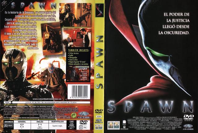 spawn caratula dvd 1997