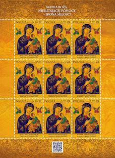 Polonia - Filatelia - Nuestra Señora del Perpetuo Socorro - 2016 - Hoja Bloque