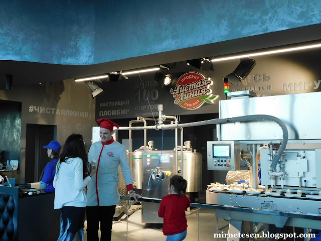 Смотровая площадка Панорама 360 - фабрика мороженого