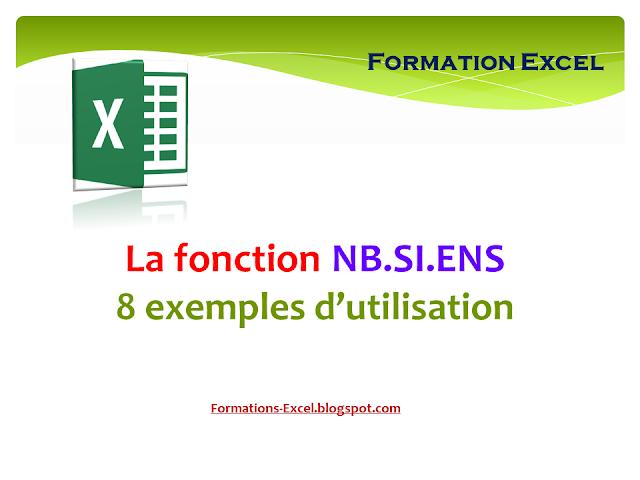 La fonction NB.SI.ENS