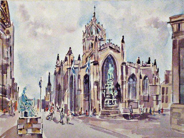 St. Giles Edinburgh