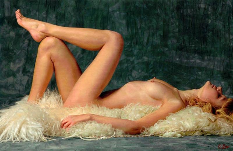 D.W.C. Baker's Woman - Painter Darren Baker