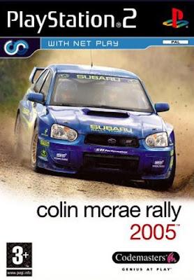 Colin McRae Rally 2005 (PS2)