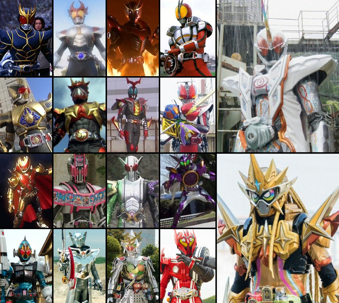 Morphenomenal Awesomeness: Kamen Rider Final Forms