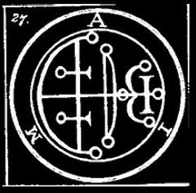 aim, goetia, sigilo, daemon, ocultismo