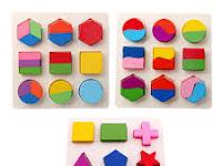Menciptakan Bentuk Dari Kepingan Geometri